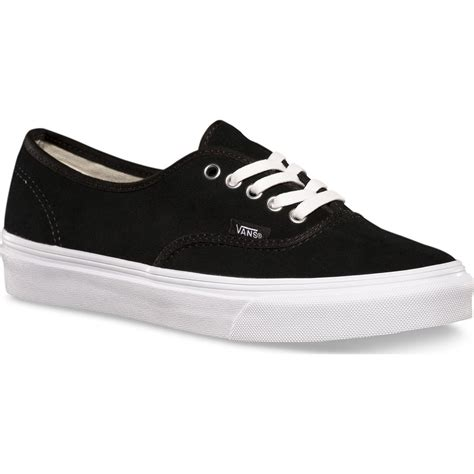 Sepatu Vans Authentic Black White Insole Black vans authentik