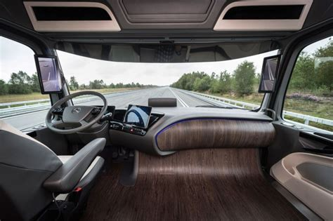 Truck Interior by Mercedes Future Truck 2025 Concept Car Design