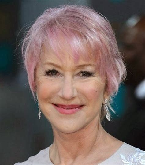 hair colour for ladies at 60 which hair colour is most flattering for 60 year short