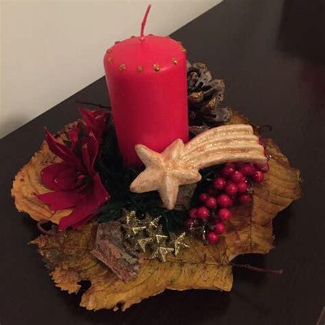 centrotavola natalizi con candele centrotavola natalizio in legno con candela feste