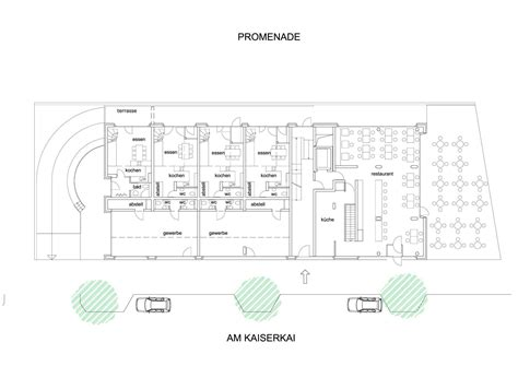 mixed use floor plans interior exterior plan baufeld 10 ground floor plan