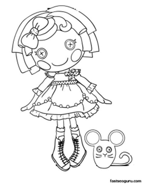 lalaloopsy halloween coloring pages sugar crumbs cookie lalaloopsy coloring page printable