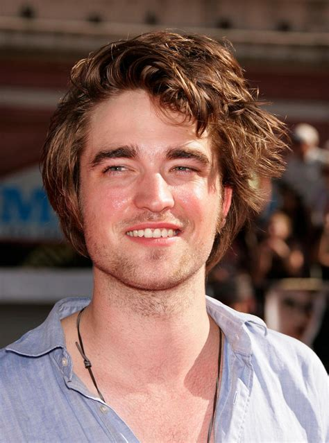 rob hair what is going on with robert pattinson s hair huffpost