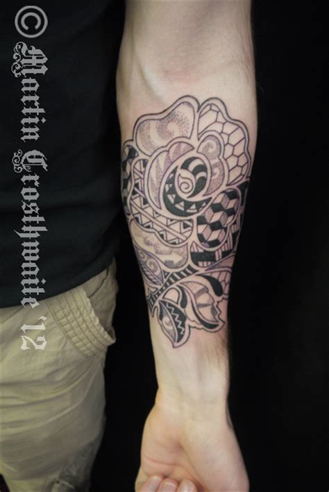 england rose tattoo tribal by mxw8 on deviantart