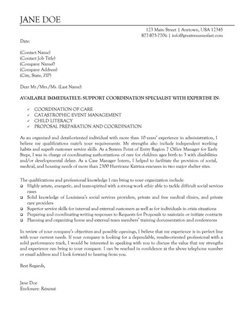 cover letter for non profit executive director cover letter sle recentresumes
