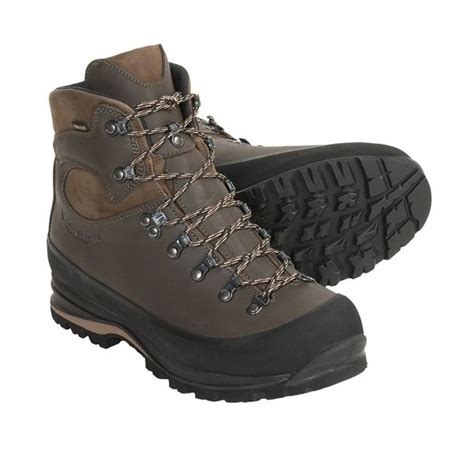 scarpa nepal leather hiking shoes travel boots trekking