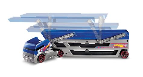 Wheels Turbo Hauler With 20 Diecast Multi Colour shop wheels cars trucks race tracks wheels
