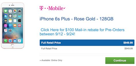 costco offering 50 to 100 mail in rebates on iphone 6s and 6s plus mac rumors