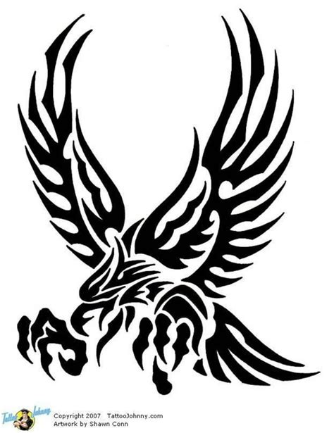 eagle tribal tattoo designs 25 best ideas about tribal eagle on