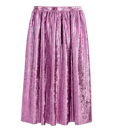 pleated skirt h m pastels pretty pastels jewelry and pastel