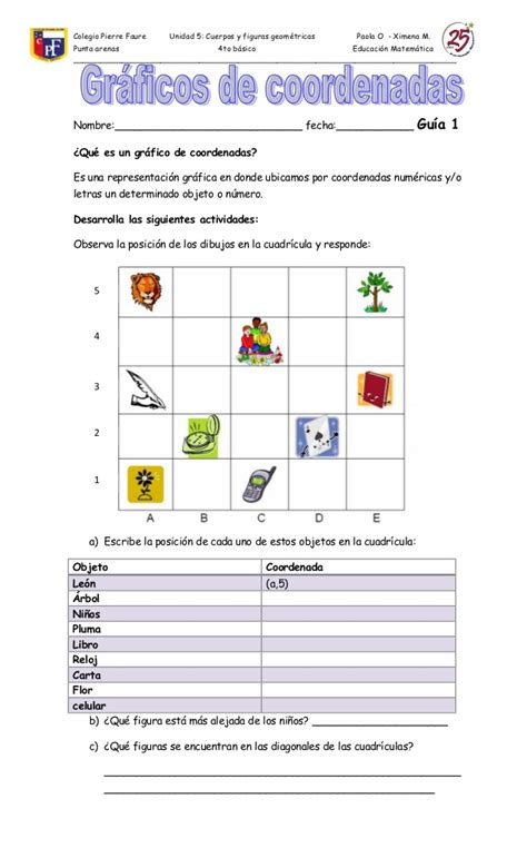 sesion de aprendizaje plano cartesiano 5 a youtube mejor guias coordenadas y angulos