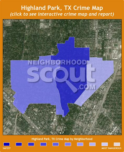 highland park texas map highland park tx crime rates and statistics neighborhoodscout