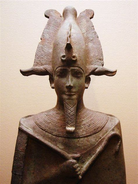 ancient egyptian god osiris ancient egyptian statue of osiris lord of the dead who