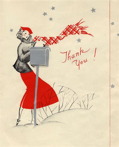 vintage thank you card 18 best vintage thank you cards images on pinterest