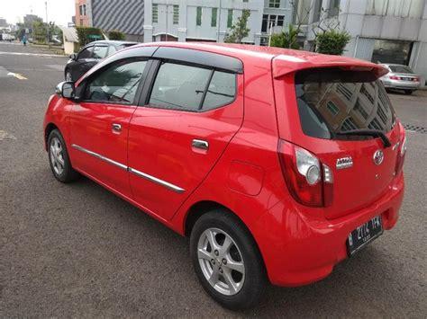 2015 Toyota Agya 1 0 G A T toyota agya 1 0 g at 2015 merah mobilbekas