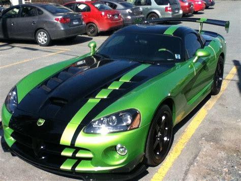dodge viper srt10 acr snakeskin green