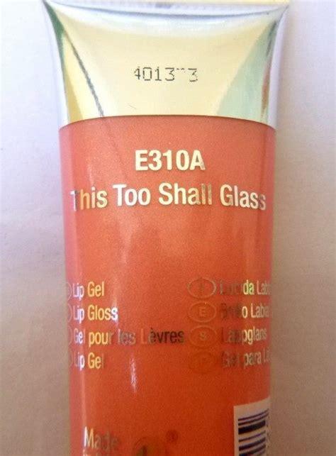 N Glassy Gloss Lip Gel This Shall Glass 310a n glassy gloss this shall glass lip gel review