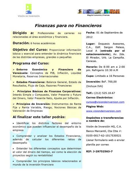 calendario de 2012 finanzas blog blog de economia y finanzas 2do curso de finanzas para no