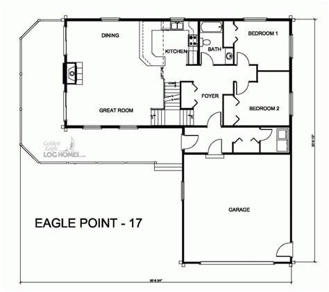golden eagle log and timber homes floor plan details ep 17