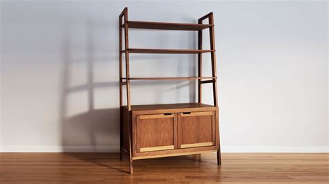 mid century modern bookcase how to a mid century modern bookcase woodworking
