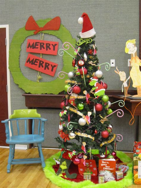 grinch christmas party props whoville decorations 2013 nailed it whoville