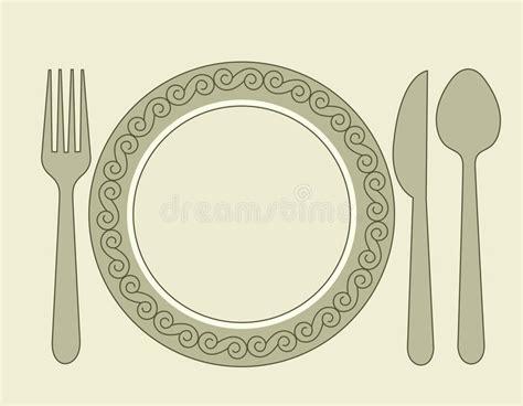 clipart pranzo invito pranzo illustrazione vettoriale illustrazione