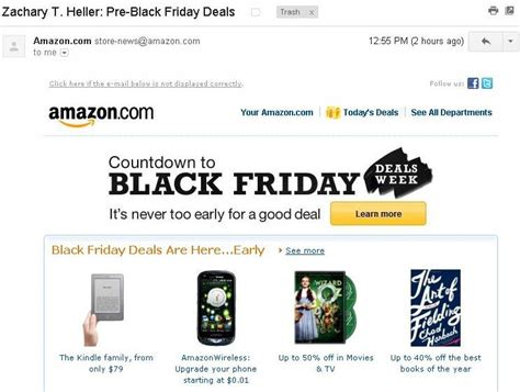 amazon email always be dealing amazon email review