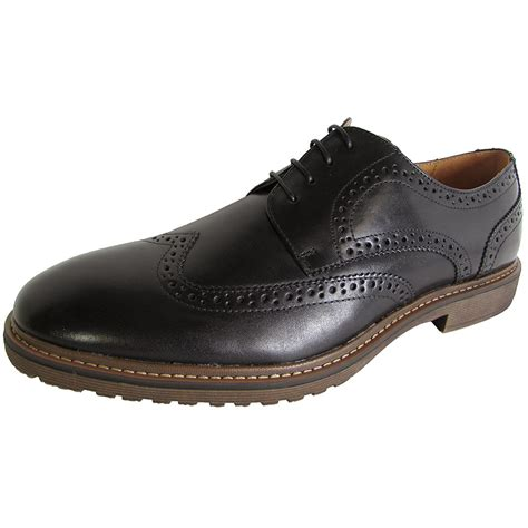 Steve Madden Oxford Shoes by Steve Madden Mens Mcalyster Lace Up Wingtip Oxford Shoes