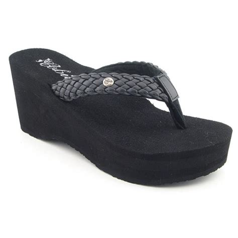 cobian s zoe black sandals flip flops free shipping on orders 45 overstock