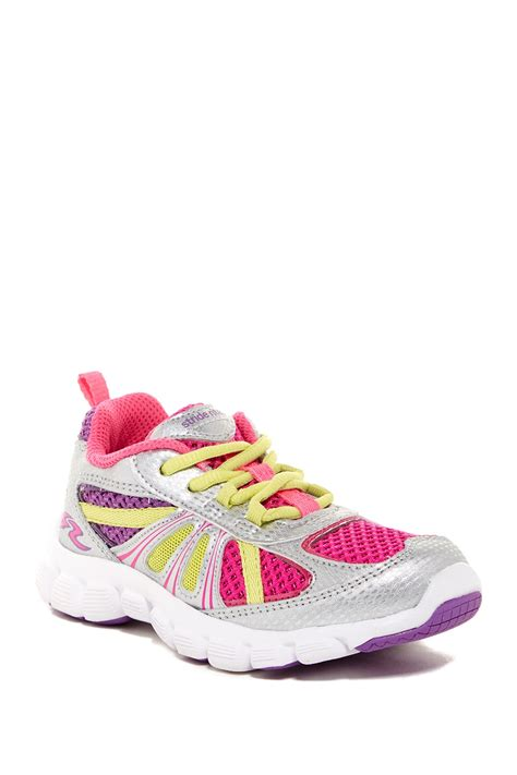 wide sneakers for toddlers stride rite propel 2 lace up sneaker wide width