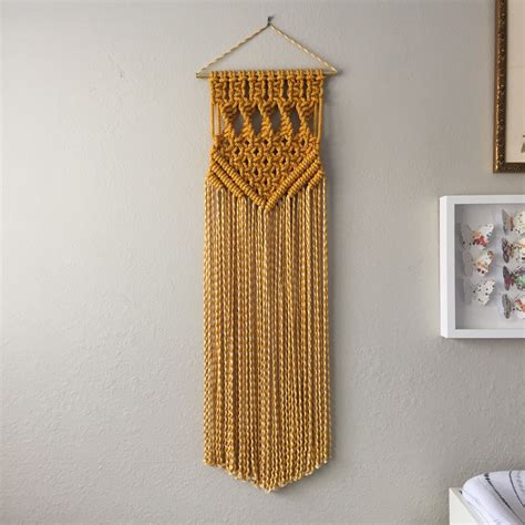 Macrame Wall Hanger - macrame patterns macrame pattern macrame wall hanging