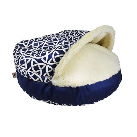 pet cave bed luxury orthopedic cozy cave wag collection dog bed
