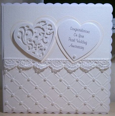 Handmade Pearl Anniversary Cards - search results for made card calendar 2015