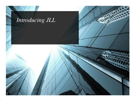 Associate Jll Mba by Jll Presentation