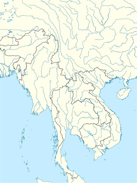 Asia Rivers Outline Map by Original File Svg File Nominally 1 358 215 1 815 Pixels File Size 1 15 Mb