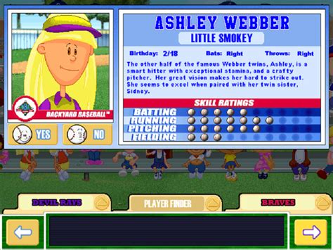 backyard baseball roster backyard baseball 2003 game giant bomb