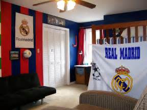 real madrid colors real madrid colors painted and decorated in jake s bedroom