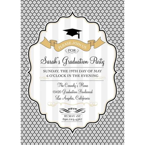 design invitation graduation top 11 graduation invitation for your inspiration