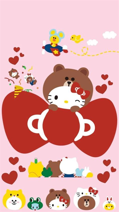 wallpaper hello kitty and friends hello kitty and friends wallpaper 57 images