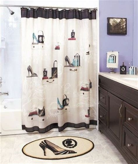old hollywood shower curtain details about fashionista chic paris lady shoe fancy