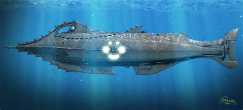 disney nautilus submarine wallpaper wallpapersafari