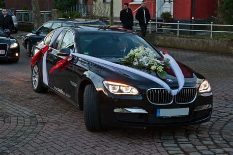 Hochzeits Auto by Foto Hochzeitsauto Bmw 730d F01 Lci Vergr 246 223 Ert