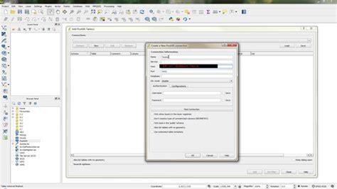 qgis tutorial database qgis connect to postgis database