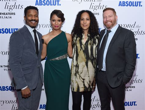 beyond the lights cast cast of beyond the lights attend nyc premiere