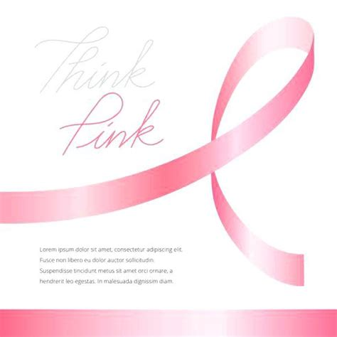 breast cancer powerpoint template free download breast cancer template ribbon templates free