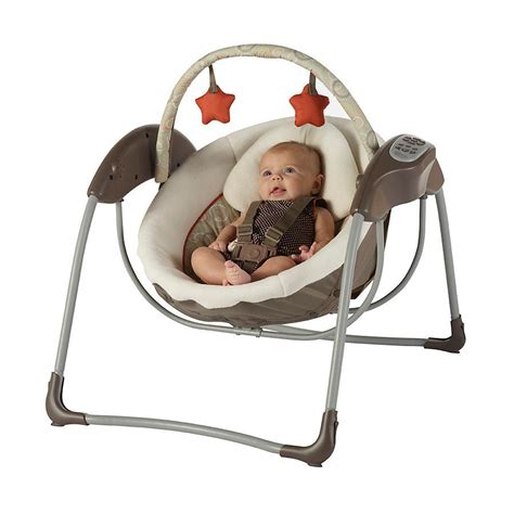 glider baby swing view larger