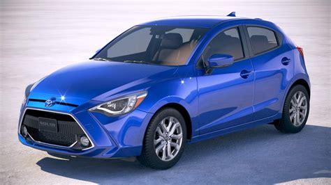 Toyota Yaris Hatchback 2020 by Toyota Yaris Hatchback Us 2020 3d Model