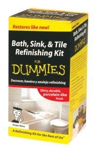bath sink and tile refinishing kit for dummies homax 2105 tub tile sink refinishing kit white