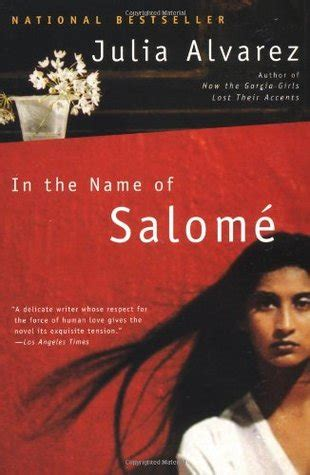 libro the name of the en el nombre de salom 233 ure 241 a de julia alvarez la hora del t 233