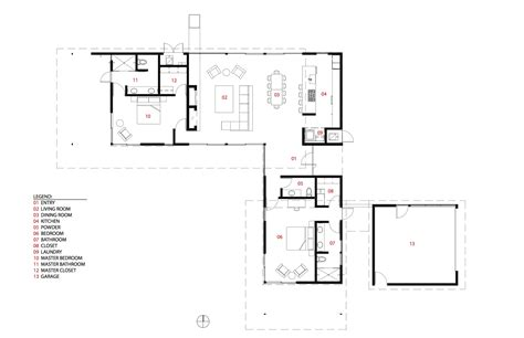 springs floor plans gallery of house in palm springs o2 architecture 24